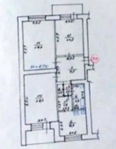 3-комн., 82 кв. м., Бакунина, Сосновая Горка, Харьков, Шевченковский (Дзержинский) район