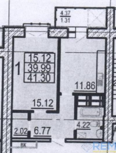 1-комн., 41 кв. м., Клочковская, Павловка, Харьков, Шевченковский (Дзержинский) район