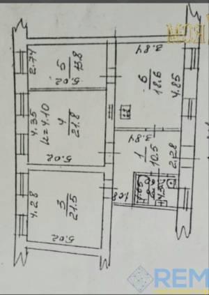 3-комн., 97 кв. м., Покровский пер, Центр, Одесса, Приморский район