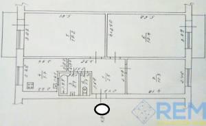 3-комн., 62 кв. м., Маршала Малиновского, Черемушки, Одесса, Малиновский район