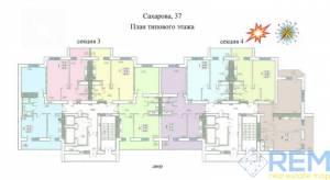 1-комн., 48.5 кв. м., Академика Сахарова, Котовского пос, Одесса, Суворовский район