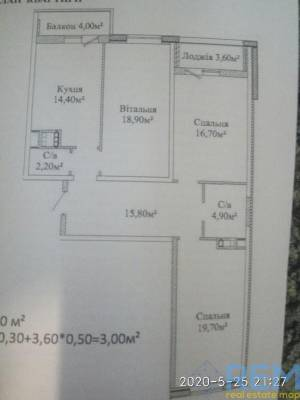 3-комн., 97 кв. м., Михайловская, Молдаванка, Одесса, Малиновский район