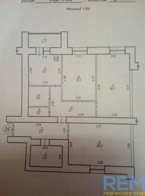 3-комн., 92 кв. м., Прокофьева, Прокофьева, Сумы, Заречный район
