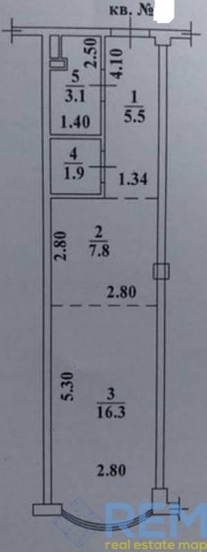 1-комн., 34 кв. м., Фонтанская дорога, Фонтан, Одесса, Киевский район