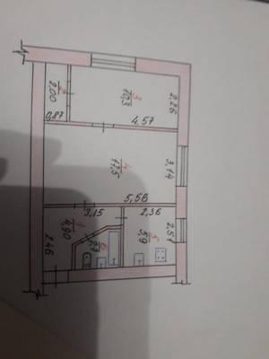 2-комн., 43 кв. м., Космонавтов, 13 линия (Космонавтов), Николаев, Ингульский (Ленинский) район