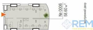 Офис, Генуэзская, 56.8 кв. м., Аркадия, Одесса, Приморский район