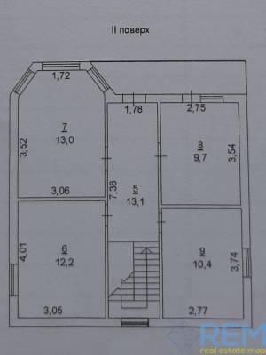 Дом, Фонтан, 4-комн., 132 кв. м., Ромашковая, Одесса, Киевский район
